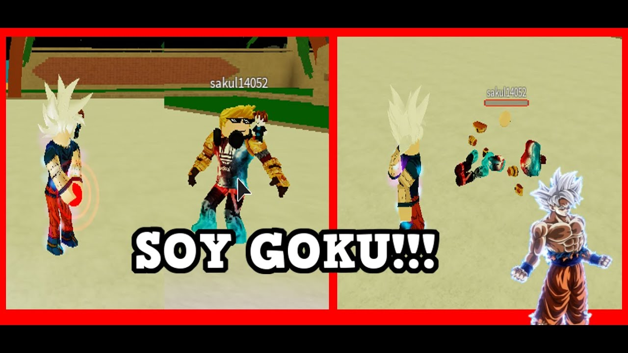 UN DÍA SIENDO GOKU 🤯   Dragon Ball Rage   ROBLOX   Edgar GamePlayer