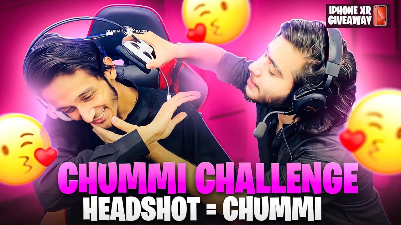 Chummi Challenge with @Muneeb Gaming   Headshot = Chummi   47 khalifa Pubg Mobile