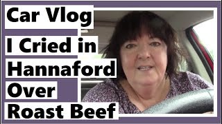 Car Vlog - I Cried in Hannaford Over Roast Beef