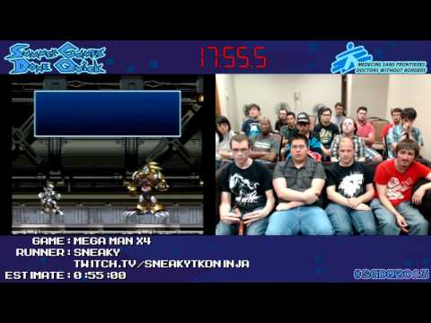 Mega Man X4 in 0:44:43 [GCN] by Sneakytdkninja #SGDQ 2013