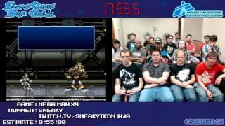 Mega Man X4 in 0:44:43 [GCN] by Sneakytdkninja #SGDQ 2013