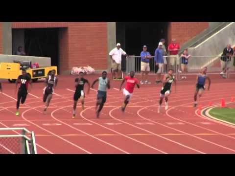 Cameron Williams - Texas Region IV 200 Meter Champion