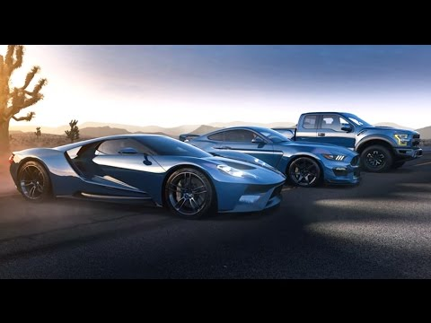 Ford Mustang Gtr  Ford F  Raptor And The  Ford Gt
