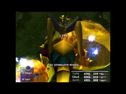 Final FantasY VII New Threat Mod Superboss - Nemesis