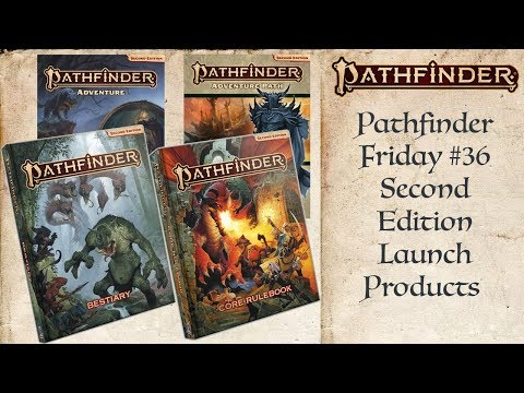Pathfinder Second Edition Launch Day Products (Pathfinder #36)