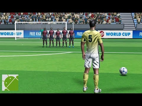 Free Kick Club World Cup 17  Android Gameplay HD