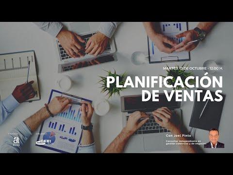 Webinar Planificación de ventas