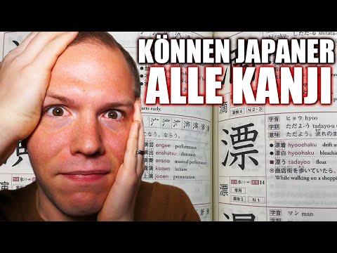 Können Japaner Alle Kanji Lesen Und Schreiben?
