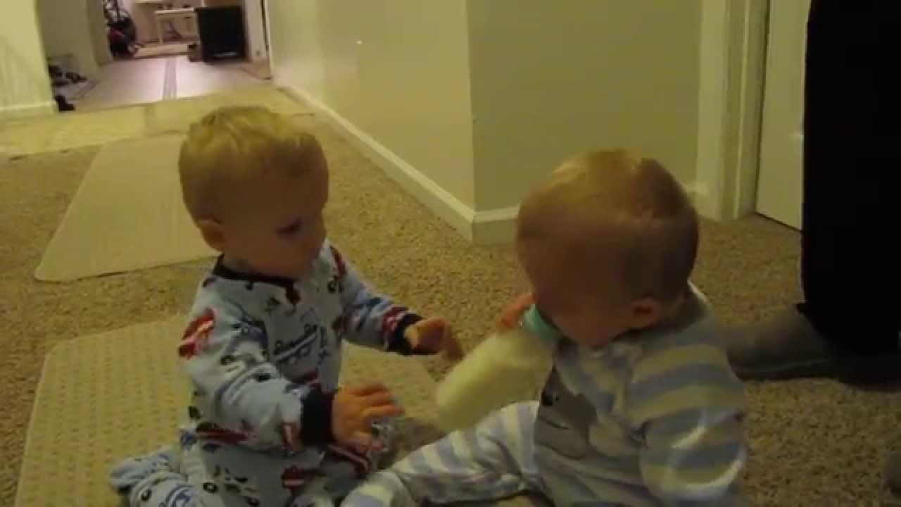 Twins Heart Breaking Bottle Snatch