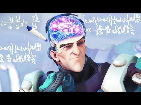 10 Minutes of SATISFYING 500 IQ plays - Overwatch