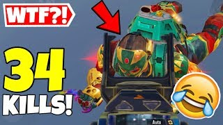THE WORST CAMPER EVER IN CALL OF DUTY MOBILE BATTLE ROYALE!