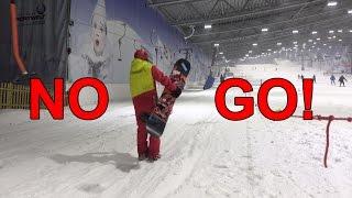 Fünf Snowboard No-Gos