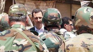 موعد سري لرحيل بشار الأسد ودستور روسي يحتفظ بالجيش للأقليات !- هنا سوريا