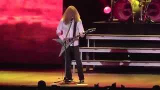 Megadeth Set the world afire Mexico 2014