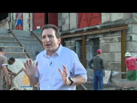 Cuban musician refurbishes power station
