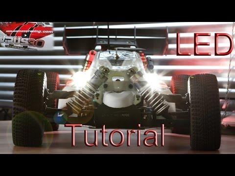 Rc Modellbau Led Beleuchtung | Rc Car Led Tutorial Teil 24 Led Teil 1 Von 3 Bauanleitung Lights