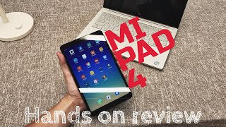 Xiaomi MI PAD 4 HANDS ON REVIEW - English - 4K
