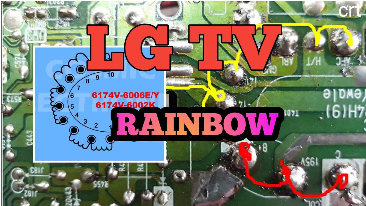 #Lgtv#Rainbow.How to repair lg tv rainbow problem.