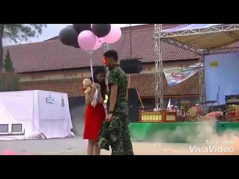 BIKIN BAPER PASANGAN ANGGOTA TNI_AD YANG SEDANG LDR