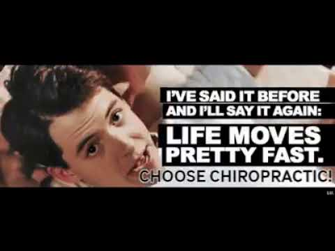 Life Moves Pretty Fast...CHOOSE CHIROPRACTIC! - Ferris Bueller - Discover Chiropractic - Memes/GIF