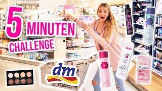 Kann ich in 5 Minuten 300 Euro bei DM ausgeben CHALLENGE!! XXL LIVE HAUL | XLAETA