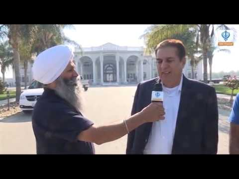 Sikh Channel USA: Special Interview - Satnam Singh Sandhu (Crown Nut Company, Tracy, CA) -10/11/18