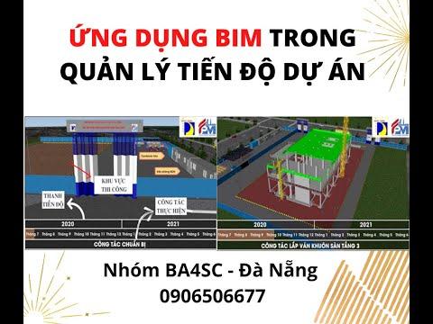 Ứng dụng BIM trong quản lý tiến độ dự án