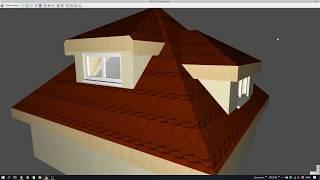 ArCADia Architektura - Okna w facjatkach