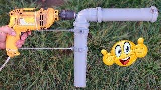 как сделать насос для откачки воды своими руками