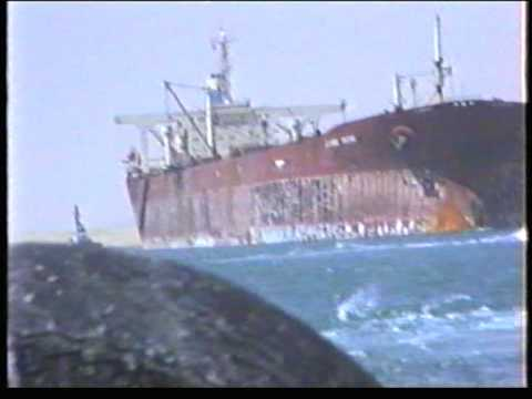 JAHRE VIKING in the Suez Canal  YouTube