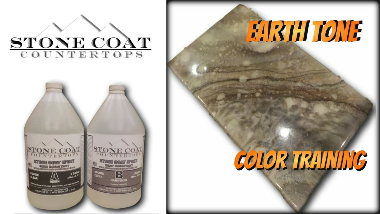 Download How to make an Earth Tone counter top color training