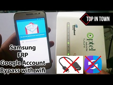 Bypass FRP/Google Account All Samsung Devices without OTG and SideSync (100% FREE) 2017