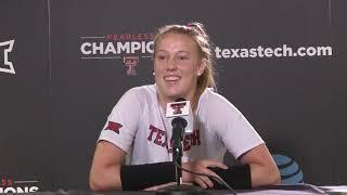 Texas Tech Volleyball: Media Availability   8.20.2019