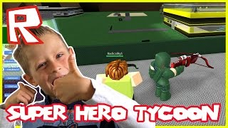 SUPER HERO TYCOON - GREEN ARROW | Roblox
