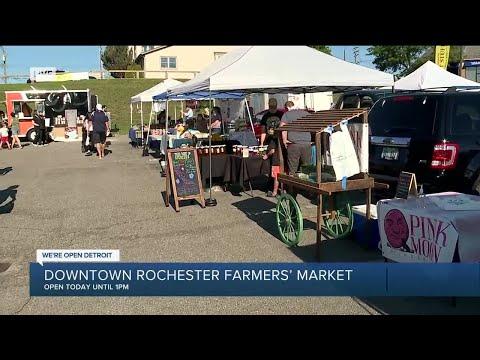 Downtown Rochester Farmer's Market