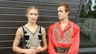 Катарина Мюллер и Тим Дик - Фигуристы о выступлении в России