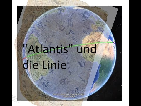 Piri Reis Karte Atlantis.Liegt Atlantis Auch Auf Dieser Linie Rund Um Den Globus