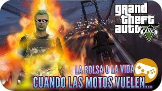 LA BOLSA O LA VIDA GAMEPLAY GTA V ONLINE PS4 ESPAÑOL