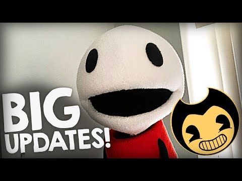QUICK VIDEO! Huge BENDY Updates Coming wIth Ch4!! :D