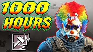What 1000 HOURS of SLEDGE Experience Looks Like - Rainbow Six Siege