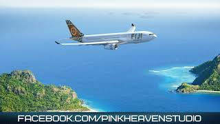 Flight over the ocean (Royalty free music)