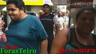 Camelô GUERREIRA recebe homenagem no local onde trabalha.