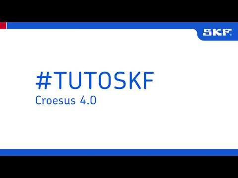 Tuto SKF Croesus 4.0  Outil de références croisées