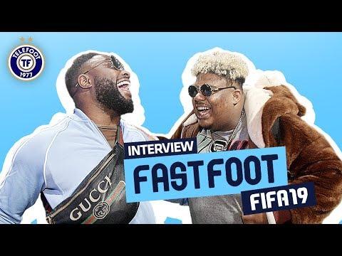 'MHD est vraiment nul !' L'interview Fast Foot FIFA 19 de Naza et Gradur