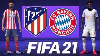 BAYERN MONACHIUM VS ATLETICO MADRYT - Hogaty i Enormy w FIFA 21