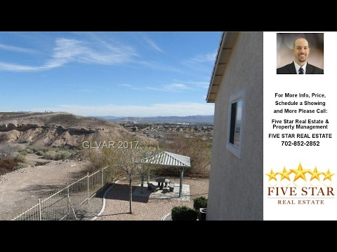 1836 SCIMITAR Drive, Henderson, NV Presented by Five Star Real Estate & Property Management.