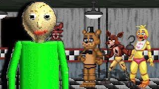 Baldi would be OP in Five Nights at Freddy's | (FNAF vs Baldi's Basics Animation Meme)