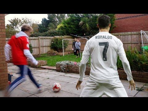 FOOTBALL CHALENGE vs CRISTIANO RONALDO