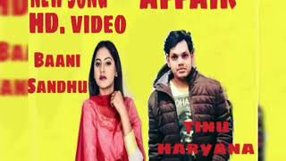 Affair (Full ) Baani Sandhu ft Tinu Haryana , Lawrence Bishnoi | New Song 2019 |