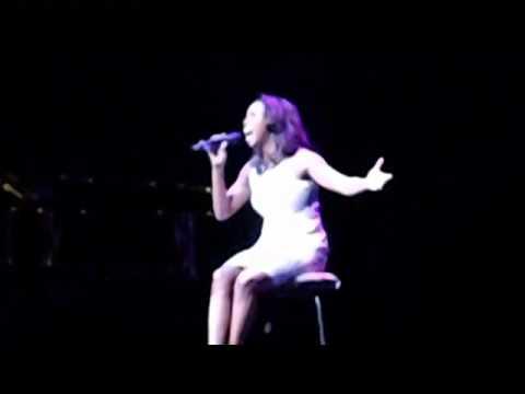 Disney Fantasy christening: Heather Headley sings 3 of my favorite Disney songs